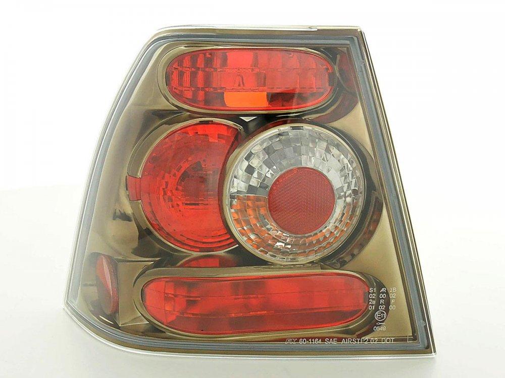 Задние фонари от FK Black Chrome на Volkswagen Bora 4D