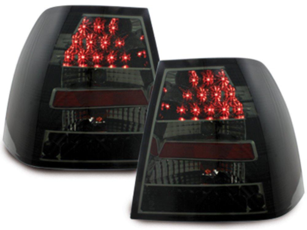 Задние фонари LED Black Smoke на Volkswagen Bora 4D