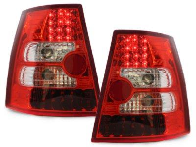 Задние фонари LED Red Crystal на Volkswagen Bora Variant