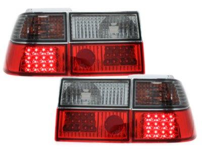 Задние фонари LED Red Smoke на Volkswagen Corrado