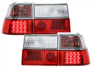 Задние фонари LED Red Crystal на Volkswagen Corrado