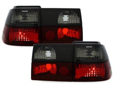Задние фонари Red Black на Volkswagen Corrado