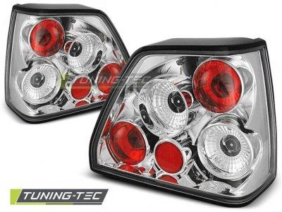 Задние фонари Chrome от Tuning-Tec на Volkswagen Golf II