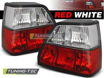 Задние фонари Red Crystal от Tuning-Tec на Volkswagen Golf II