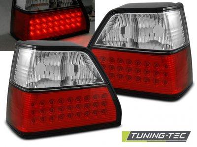 Задние фонари LED Red Crystal от Tuning-Tec на Volkswagen Golf II