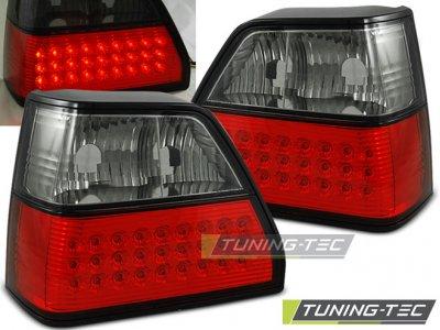 Задние фонари LED Red Smoke от Tuning-Tec на Volkswagen Golf II