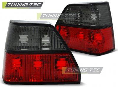 Задние фонари Red Smoke Var2 от Tuning-Tec на Volkswagen Golf II