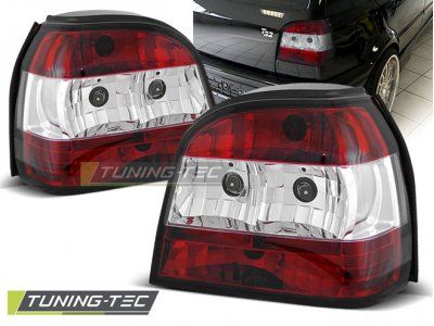 Задние фонари Red Crystal Var2 от Tuning-Tec на Volkswagen Golf III