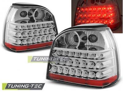 Задние фонари LED Chrome от Tuning-Tec на Volkswagen Golf III