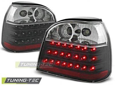 Задние фонари LED Black от Tuning-Tec на Volkswagen Golf III