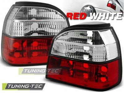 Задние фонари Red Crystal от Tuning-Tec на Volkswagen Golf III