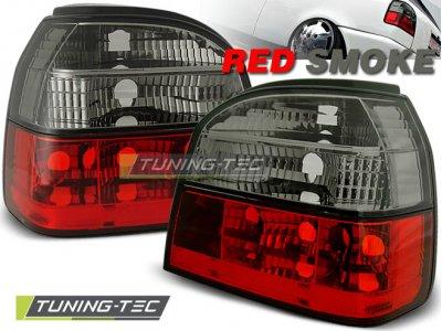 Задние фонари Red Smoke от Tuning-Tec на Volkswagen Golf III