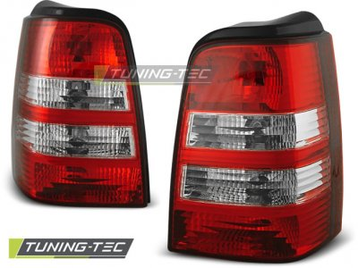 Задние фонари Red Crystal от Tuning-Tec на Volkswagen Golf III Variant