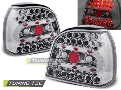 Задние фонари LED Chrome Var2 от Tuning-Tec на Volkswagen Golf III