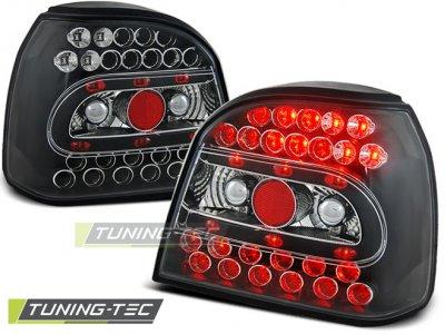 Задние фонари LED Black Var2 от Tuning-Tec на Volkswagen Golf III