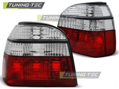Задние фонари Red Crystal V3 от Tuning-Tec на Volkswagen Golf III
