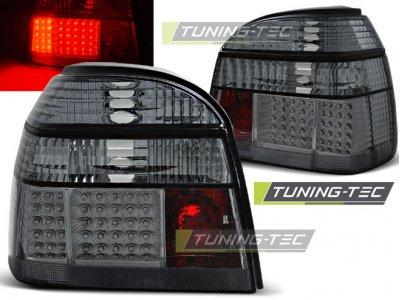 Задние фонари LED Smoke от Tuning-Tec на Volkswagen Golf III