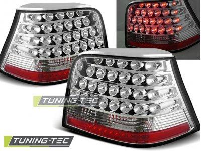 Задние фонари LED Chrome от Tuning-Tec на VW Golf IV