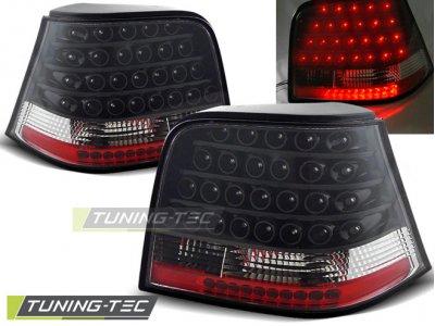 Задние фонари LED Black от Tuning-Tec на VW Golf IV