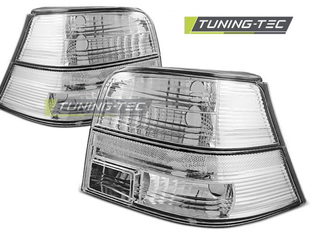 Задние фонари Chrome Var2 от Tuning-Tec на VW Golf IV