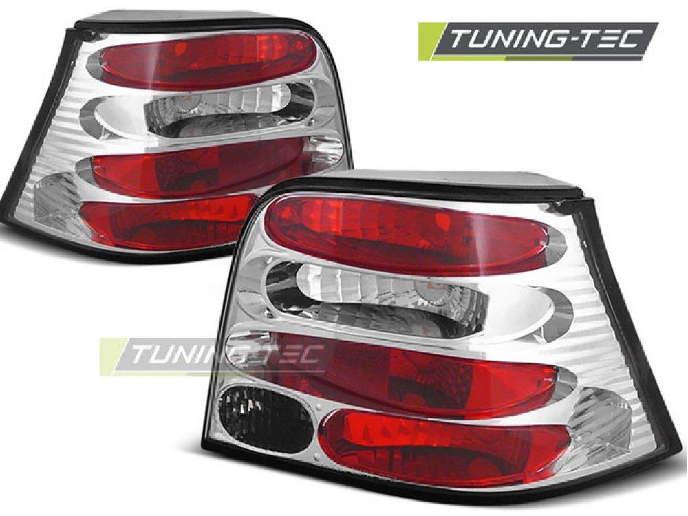 Задние фонари Chrome от Tuning-Tec на VW Golf IV