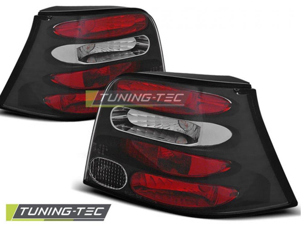 Задние фонари Black от Tuning-Tec на VW Golf IV