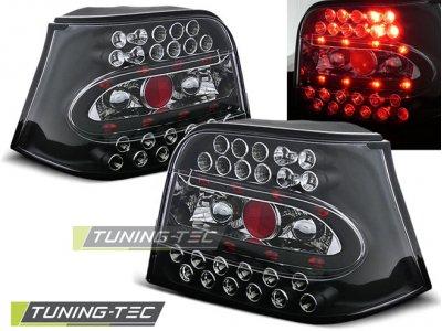Задние фонари LED Black Var2 от Tuning-Tec на VW Golf IV