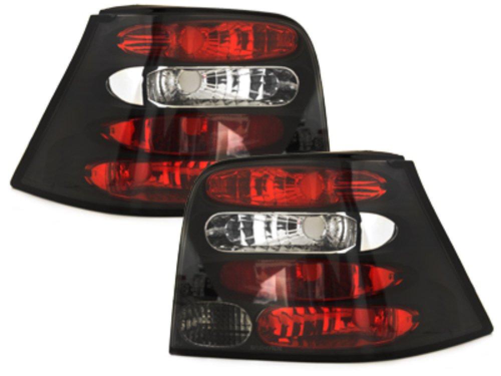 Задние фонари Black на Volkswagen Golf IV