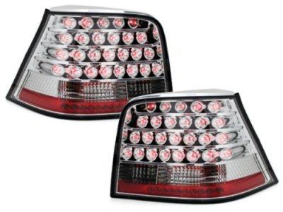 Задние фонари LED Crystal на Volkswagen Golf IV