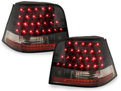 Задние фонари LED Black на Volkswagen Golf IV