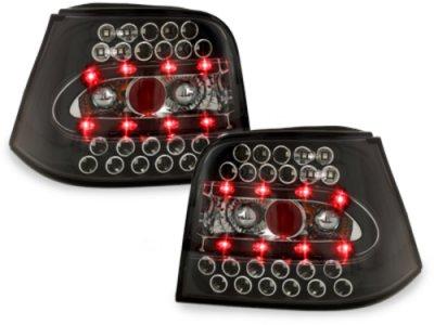 Задние фонари LED Black Var2 на Volkswagen Golf IV