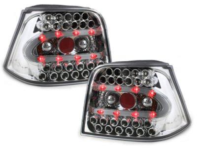 Задние фонари LED Crystal Var2 на Volkswagen Golf IV