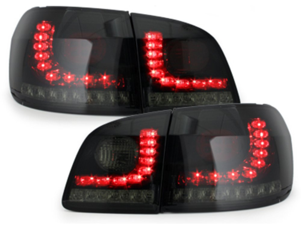 Задние фонари LED Black Smoke на Volkswagen Golf Plus