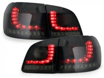 Задние фонари LED Black Smoke на Volkswagen Golf Plus