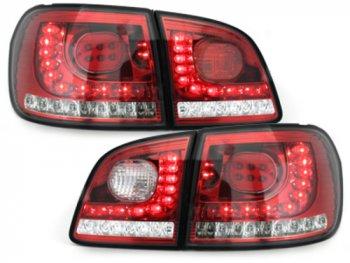 Задние фонари LED Red Crystal на Volkswagen Golf Plus