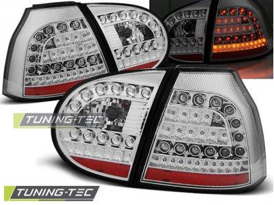 Задние фонари LED Chrome от Tuning-Tec на Volkswagen Golf V
