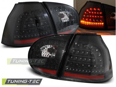 Задние фонари LED Black от Tuning-Tec на Volkswagen Golf V