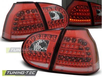 Задние фонари LED Red Crystal от Tuning-Tec на Volkswagen Golf V