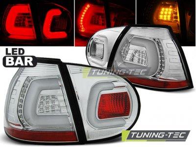 Задние фонари LEDBar Chrome от Tuning-Tec на Volkswagen Golf V