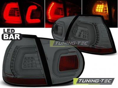Задние фонари LEDBar Smoke от Tuning-Tec на Volkswagen Golf V