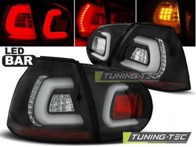 Задние фонари LEDBar Black от Tuning-Tec на Volkswagen Golf V