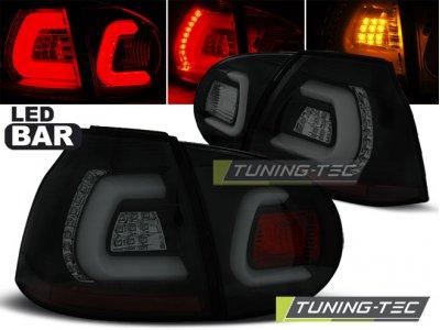 Задние фонари LEDBar Black Smoke от Tuning-Tec на Volkswagen Golf V