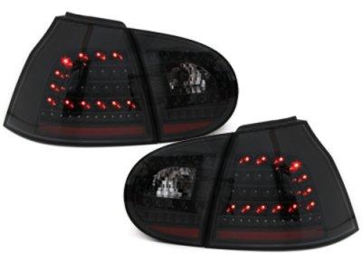 Задние фонари LED Black на Volkswagen Golf V