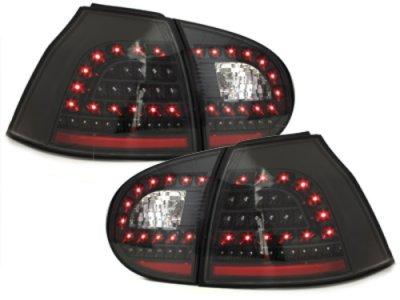 Задние фонари Litec LED Black на Volkswagen Golf V