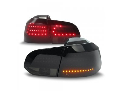 Задние фонари Urban Style LED Black Smoke на Volkswagen Golf VI