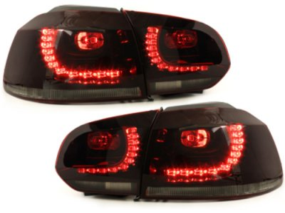 Задние фонари R-Look LED Red Smoke на Volkswagen Golf VI