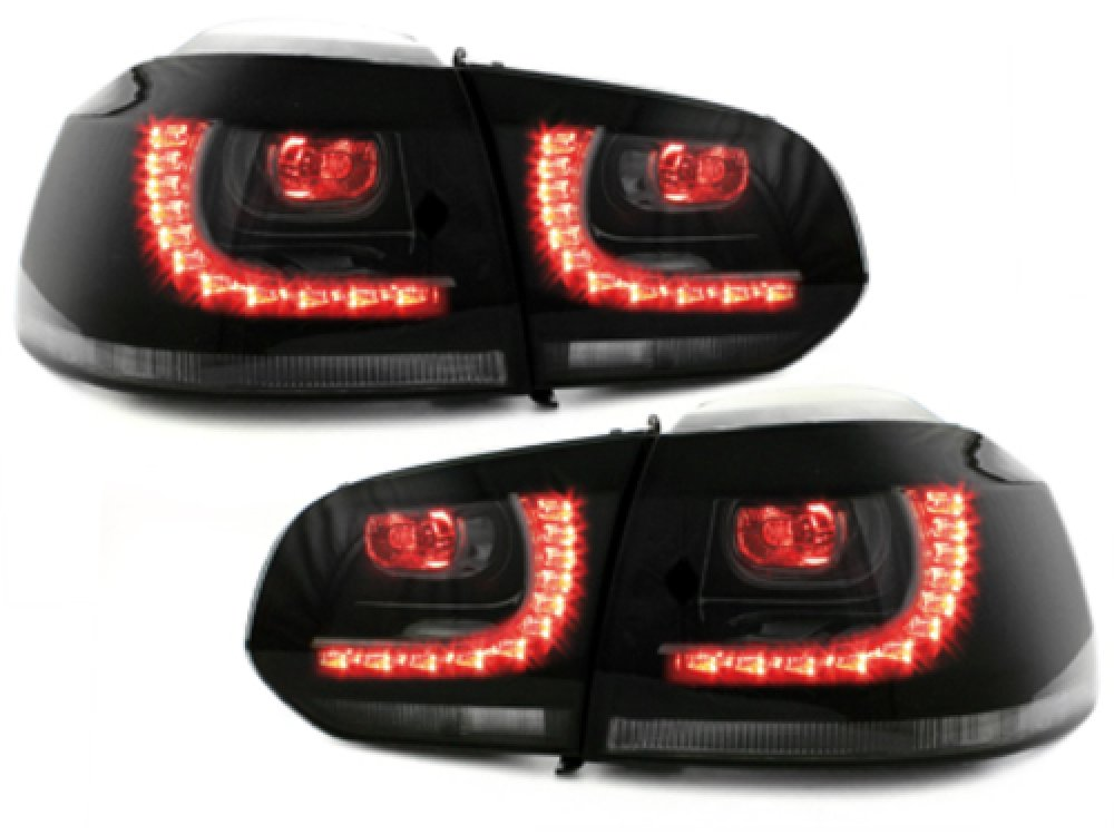 Задние фонари R-Look LED Smoke на Volkswagen Golf VI