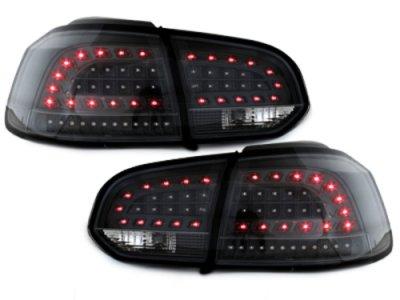 Задние фонари Litec LED Black на Volkswagen Golf VI