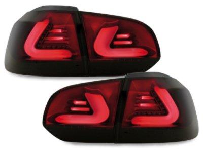 Задние фонари CarDNA LED Black Smoke на Volkswagen Golf VI