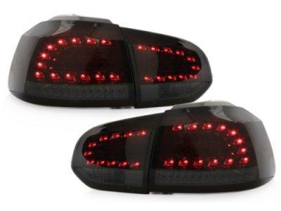 Задние фонари Litec LED Red Smoke на Volkswagen Golf VI